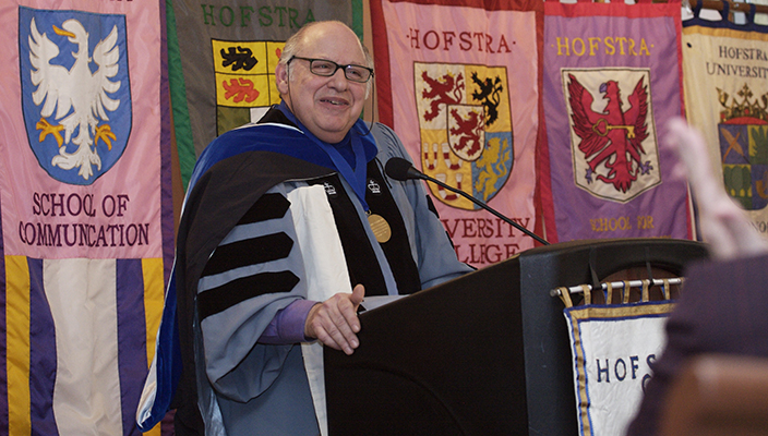 2/27/08, Hempstead. Hofstra University Club Convocation for Pellegrino D'Acierno. Photo: Phil Marino