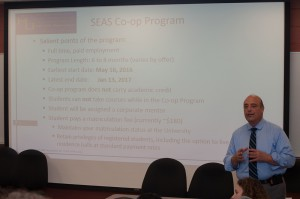 Phil Coniglio explains the co-op application process.