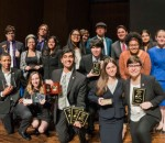 Speech and Debate team and coaches 2016 rs