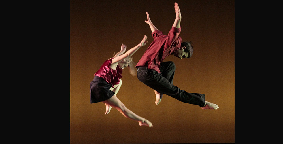 Fifteen Steps, choreographed by Niles Ford, was performed by Amanda Salituro '12 and Joseph Jehle '11 in 2010. Photo by Johan Elbers.