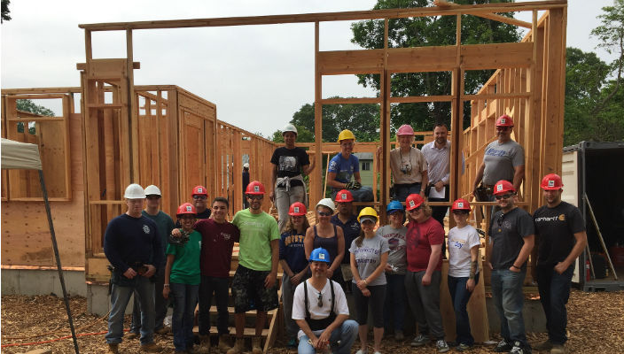 Habitat for Humanity build rs