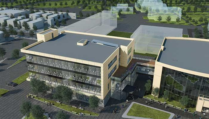 Artist's Rendering of New Building