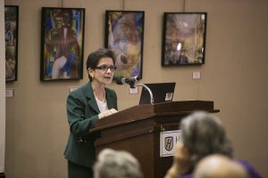 Political Science Chair Rosanna Perotti
