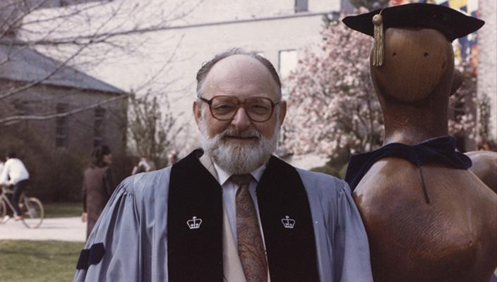 Professor Emeritus Herb Rosenbaum