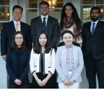 Zarb Student Editors and Dr. Boonghee Yoo, faculty advisor, Hofstra's Journal of International Business and Law