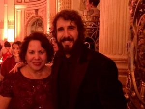 Robin Gorman Newman with Josh Groban