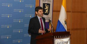 Law professor Theo Liebmann, director of clinical programs at Hofstra Law