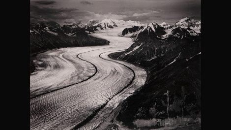 Marilyn Bridges (American, b. 1948) Kazhitna Glacier, Denali, Alaska, 1990, from the portfolio, Heightened Perspectives, 1990