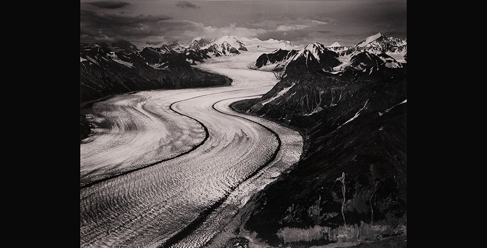 Marilyn Bridges (American, b. 1948) Kazhitna Glacier, Denali, Alaska, 1990, from the portfolio, Heightened Perspectives, 1990
