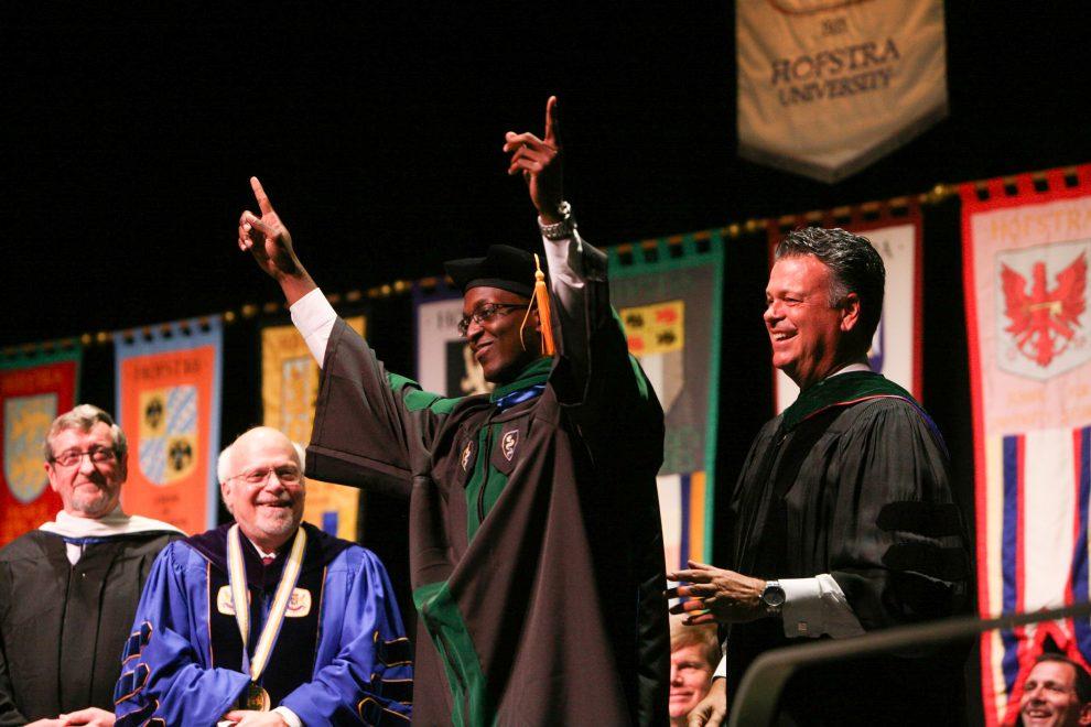 2015 School of Medicine graduate, Asaph Levy