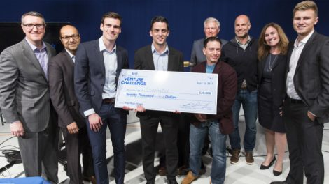 2017 Hofstra-Digital Remedy Venture Challenge first place winners