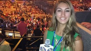 Juliana Spano at the 2016 Democratic National Convention.