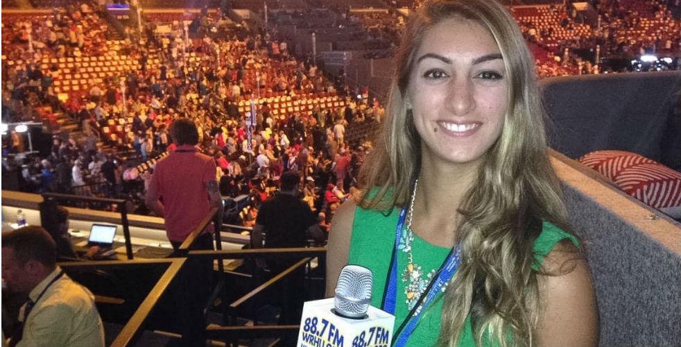 Juliana Spano at the 2016 Democratic National Convention.