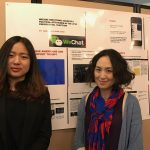 Chen Qian, left, and Dr. Jingsi Christina Wu