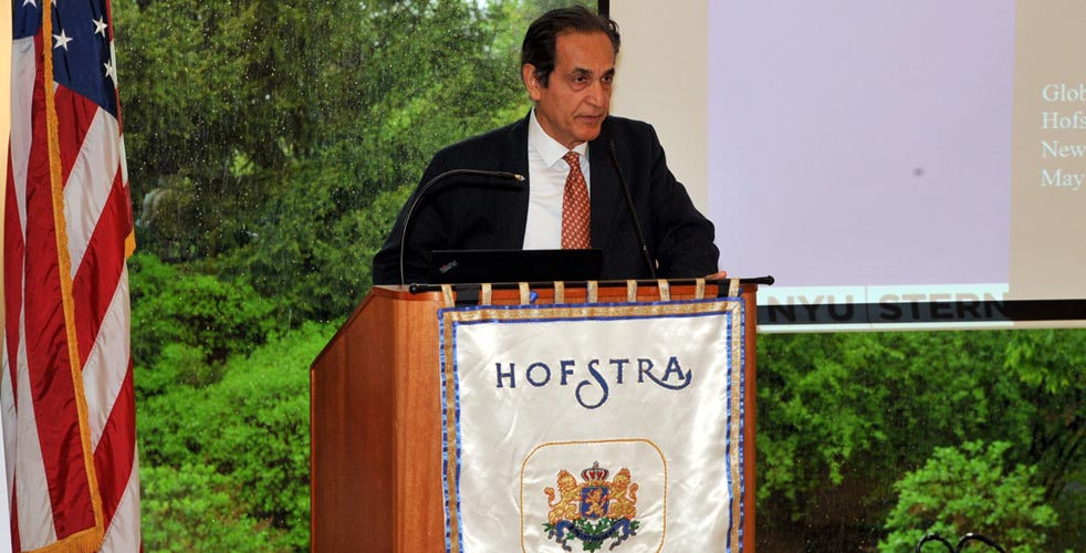 Conference chair Dr. Ehsan Nikbakht