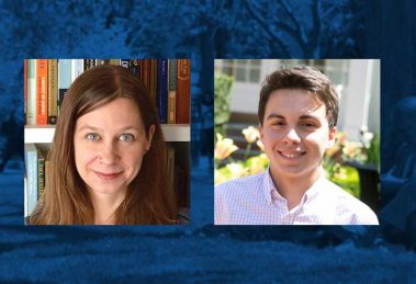 Fulbright Winners Brenda Elsey, PhD, and Kevin Patalano, '17