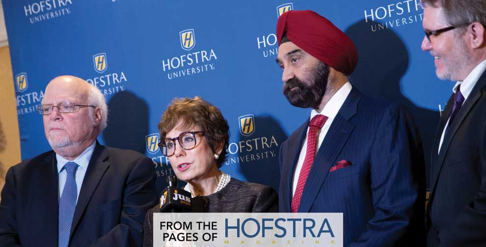 A nonprofit organization that promotes religious understanding in schools, workplaces, health care settings, and regions of armed conflict across the globe was awarded Hofstra University's 2018 Guru Nanak Interfaith Prize.