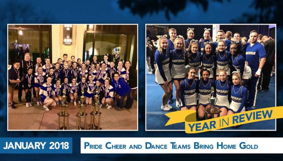 Pride Cheer and Dance Teams Bring Home Gold