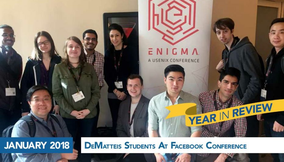 DeMatteis Students At Facebook Conference
