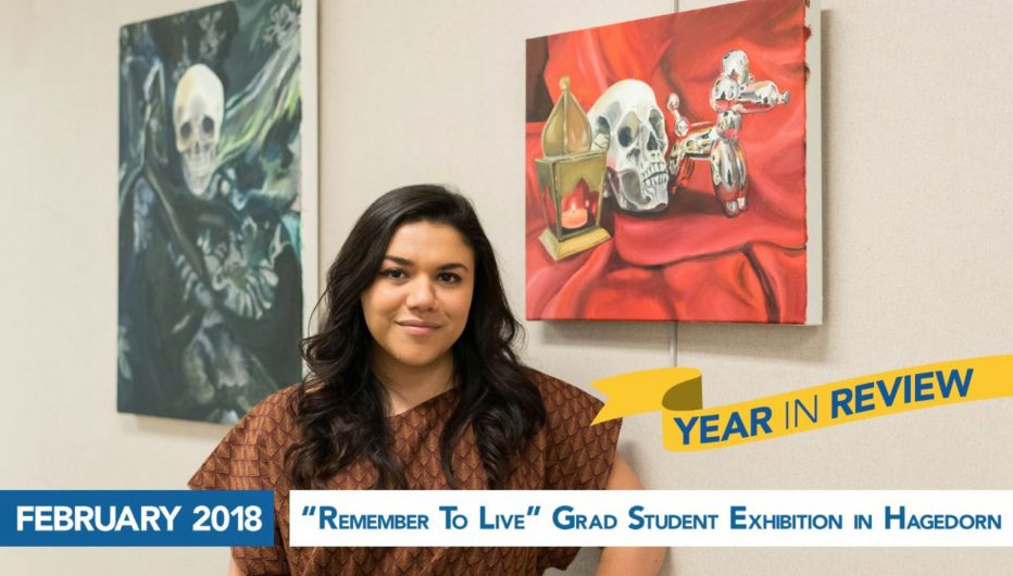 """Remember To Live"" Grad Student Exhibition in Hagedorn"