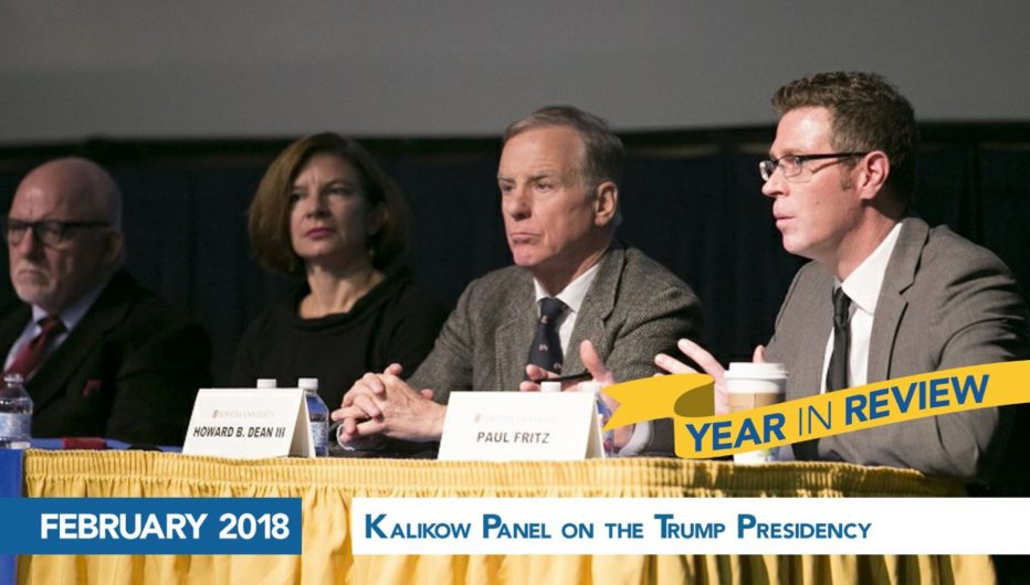 Kalikow Panel on The Trump Presidency