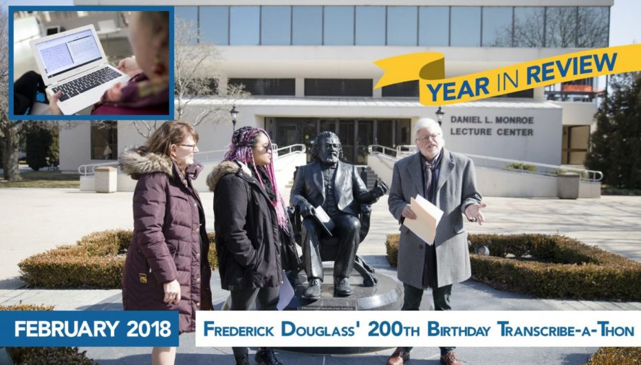 Frederick Douglass' 200th Birthday Transcribe-a-Thon