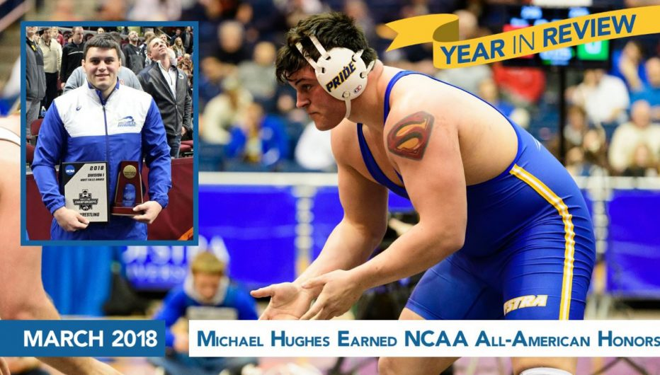 Michael Hughes Earned NCAA All-American Honors