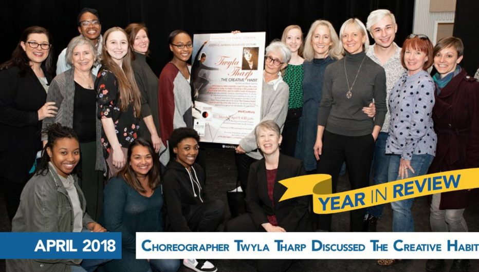 Choreographer Twyla Tharp Discussed The Creative Habit