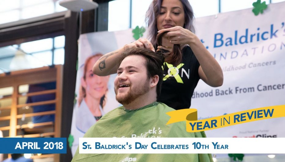 St. Baldrick's Day Celebrates 10th Year