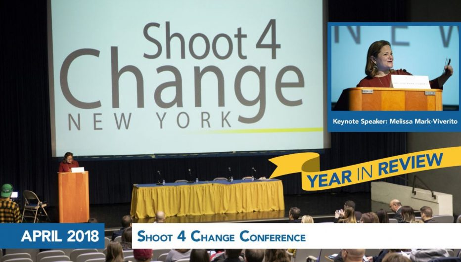 Shoot 4 Change Conference (Inset: Keynote Speaker: Melissa Mark-Viverito)