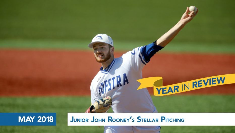 Junior John Rooney's  Stellar Pitching