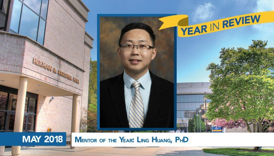 Mentor of the Year: Lin Huang, PhD