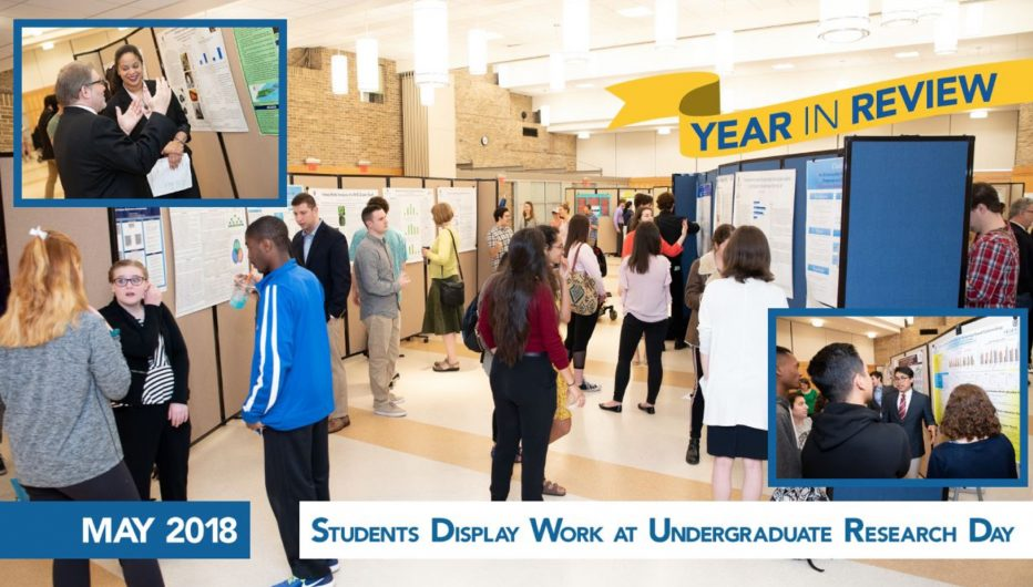 Students Display Work at Undergraduate Research Day