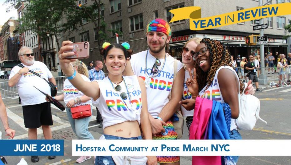 Hofstra Community at NYC Pride March