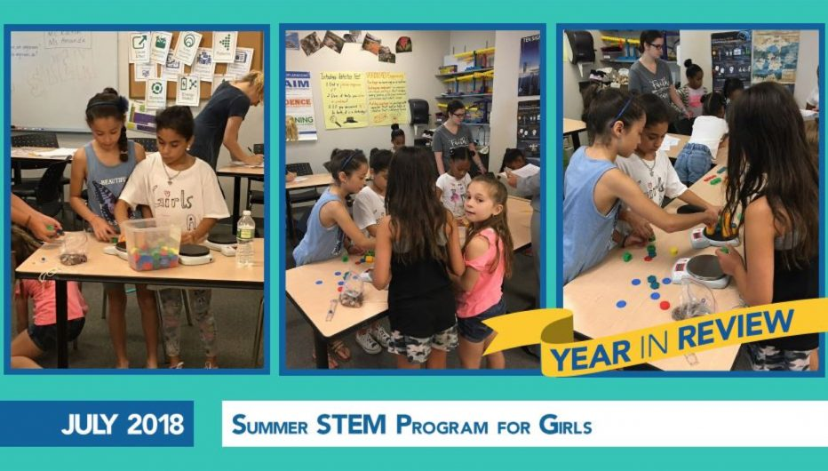 Summer STEM Program for Girls