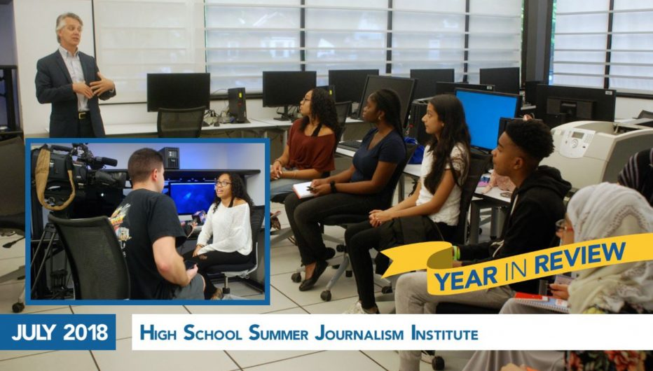 High School Summer Journalism Institute