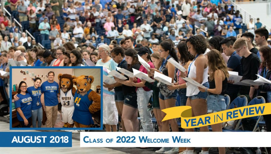 Class of 2022 Welcome Week