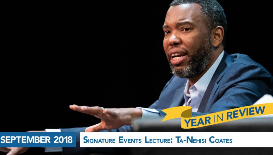 Signature Events Lecture: Ta-Nehisi Coates