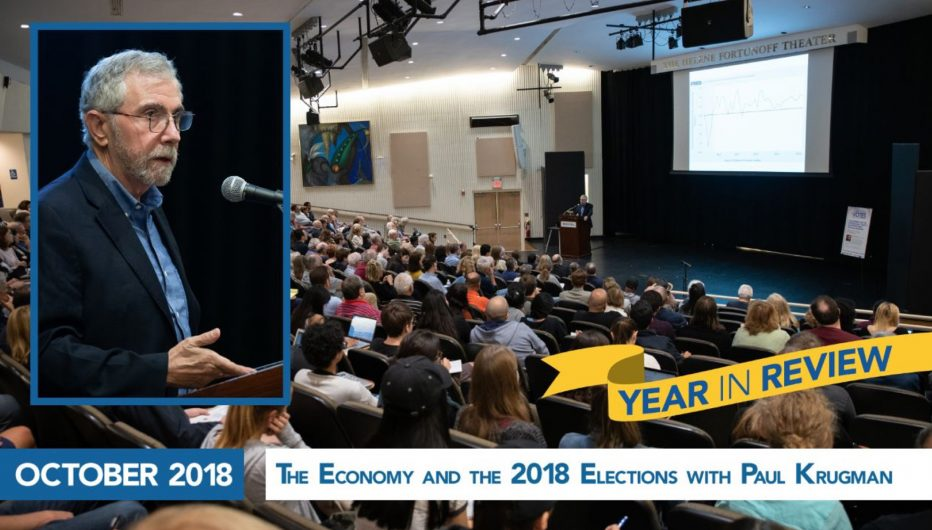 The Economy and the 2018 Elections with Paul Krugman