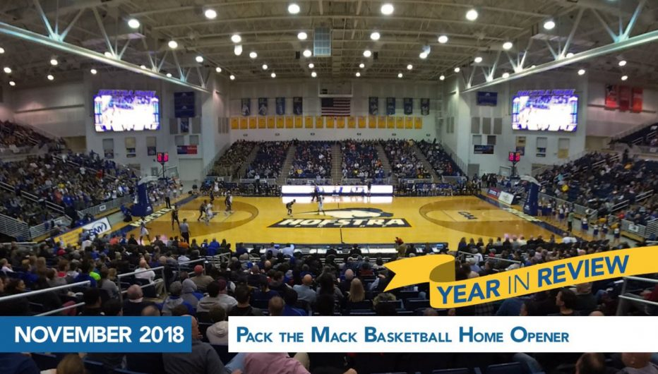 Basketball home openers Pack the Mack