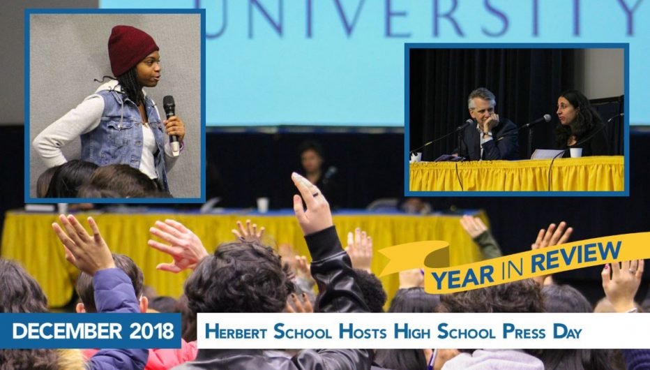 Herbert School Hosts High School Press Day