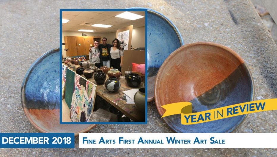 Fine Arts First Annual Winter Art Sale
