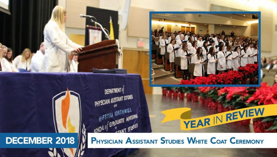 Physician Assistant Studies White Coat Ceremony